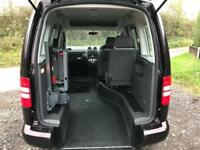 2014 Volkswagen Caddy Life 1.6 TDI 5dr DSG AUTOMATIC RIDE UPFRONT WHEELCHAIR ...