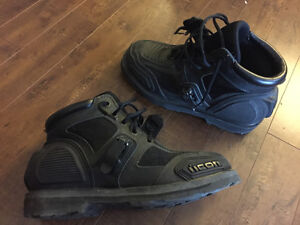 Icon size 10.5 field armour chukka boots