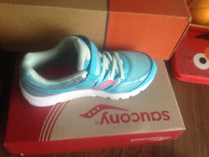 Brand new Girls Saucony shoes