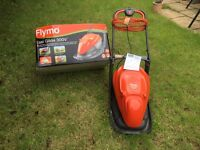 USED ONCE! Flymo Easi Glide 300 Push Mower with box and instruction manual