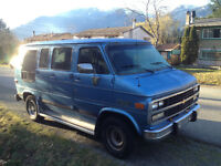 1995 Chevrolet G20 Campervan
