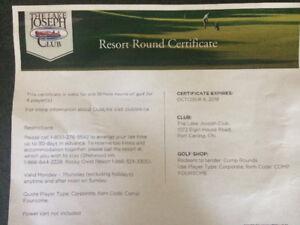 Golf - Foursome @ Lake Joseph Club Muskoka