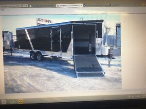 FOR SALE 2014 - 8.5 X 27' INSULATED COMBO TRAILER