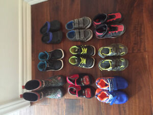 All shoes size 6-7 toddler
