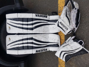 Junior goalie gear