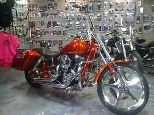 Custom 2003 Harley Davidson with low kms for sale