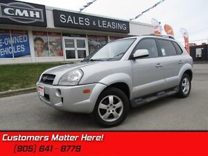 2008 Hyundai Tucson   LEATHER, SUNROOF, HEATED SEATS