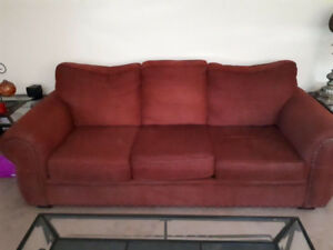Couch and love seat asking $475 obo