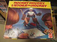 1980's Rocket Hockey game by Mattel