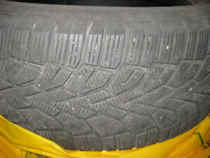 (4) Gislaved Nord Frost 235/55 R 17 T XL winter tires.