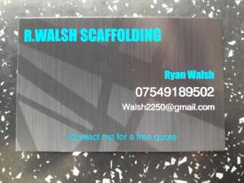 R.walsh scaffolding