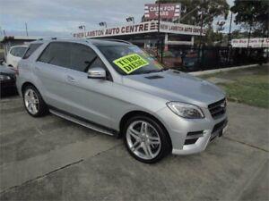 2014 Mercedes-Benz ML350 CDI BlueTEC 166 MY14 4x4 Silver 7 Speed Automatic Wagon New Lambton Newcastle Area Preview