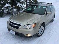 2008 Subaru Outback Legacy with Symmetrical All Wheel Drive.