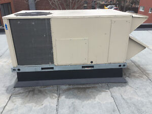 Roof top air conditioner and heating system