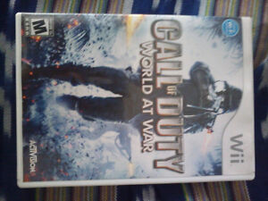 Call of Duty World At War for Wii