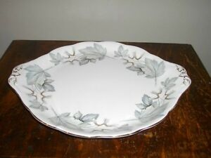 ROYAL ALBERT SILVER MAPLE FINE BONE CHINA FOR SALE!