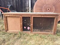 Rabbit hutch - 5 feet long