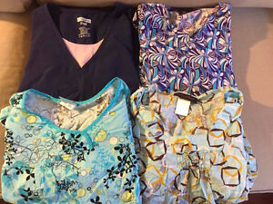 Assorted Large Scrubs Tops