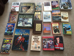 22 All about Canada Books-$10