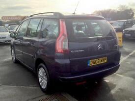 2008 CITROEN C4 PICASSO 1.6HDi 16V VTR Plus MPV 5 Seats