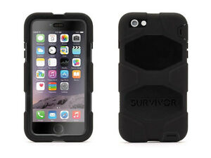 Griffin Black/Black Survivor All-Terrain Case + iPhone 6