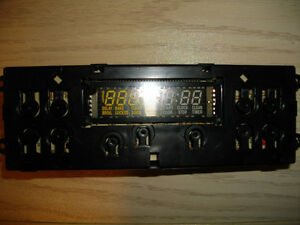 "30"" kitchen stove/oven electronic clock/timer control board"