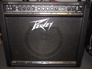 Two Peavey Amps available
