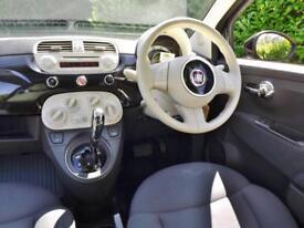 2013 Fiat 500 1.2 LOUNGE DUALOGIC Automatic Hatchback