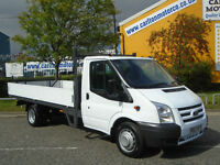 2014/ 63 Ford Transit 2.2Tdci 125 350L Dropside / Pickup 13.5ft Alloy Body RWD