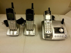 Vteck Portable 5.8 GHz Phones and Digital Answering Machine