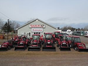 Sackville RV is your New Mahindra Tractor dealer