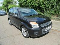 2008 FORD FUSION 1.6 ZETEC CLIMATE AUTOMATIC PETROL 5 DOOR HATCHBACK