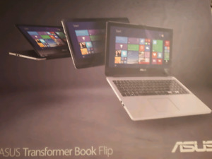 ASUS TP550LD FLIP TOUCHSCREEN Laptop 1TB, 8GB, i7, in exc