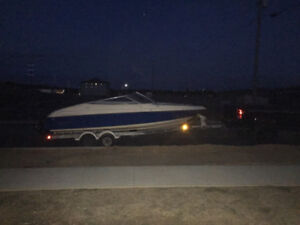 22 ft Regal Val 350 Mercruiser with new saltwater trailer