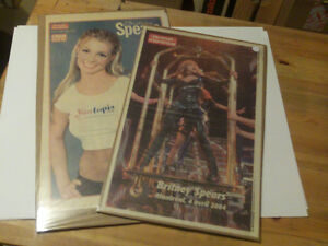 POSTERS DU JOURNAL DE MONTREAL DE BRITNEY SPEARS 2004