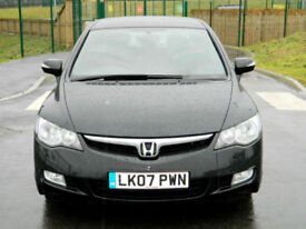 2007 Honda Civic 1.3 IMA Hybrid ES 4dr WITH FULL LEATHER+F/S/H+TOP SPEC