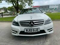 2012 Mercedes-Benz C Class C200 CDI BlueEFFICIENCY AMG Sport Plus 4dr Auto Saloo