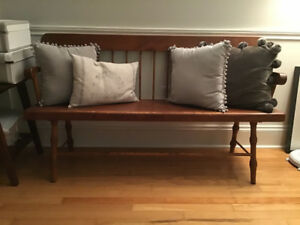 Beautiful antique pine bench