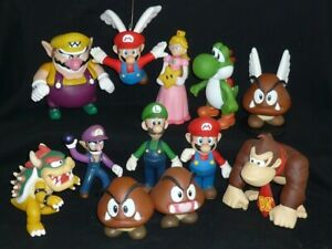 SUPER MARIO BROS pvc figures 12X