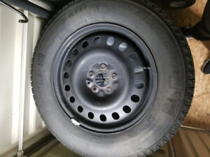 Set of 4 X-Ice 2 Winters Tires with Rims