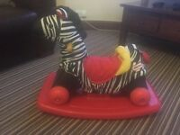 Little tikes rocking horse ride on