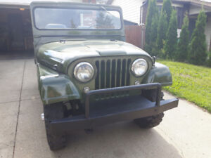 1962 Willys Jeep clean, runs and drives.