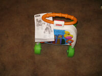 FISHER PRICE STAND AND WALK & SIT & PLAY