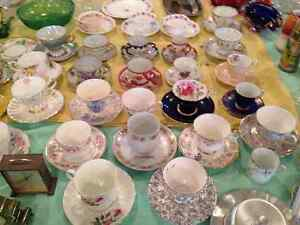 Depression Glass, China bowls, plates, cups & saucers, Spoons Kitchener / Waterloo Kitchener Area image 6
