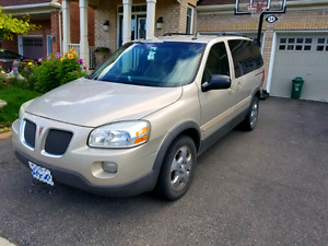 2007 Pontiac Montana 7 seater van with it's best condition
