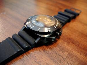 Schaumburg Lindburgh & Benson AQM 696 Black Two Watch