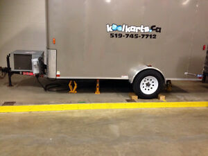 Portable Refrigerated Trailer for Sale Kitchener / Waterloo Kitchener Area image 2