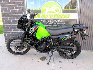 2013 KAWASAKI KLR650 26435 Km ACCIDENTÉ VGA 2549.99$