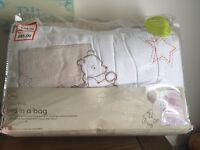 Baby's cot nursery set