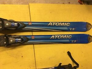 Atomic downhill ski package